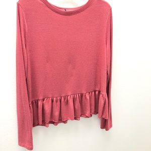 Gap sweater large 3/$25 pink ladies